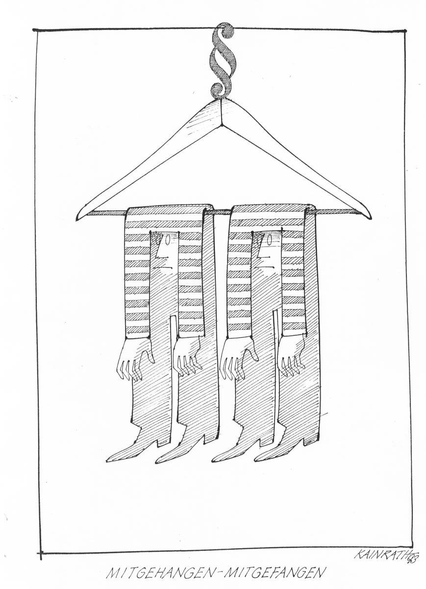 Mitgehangen Mitgefangen